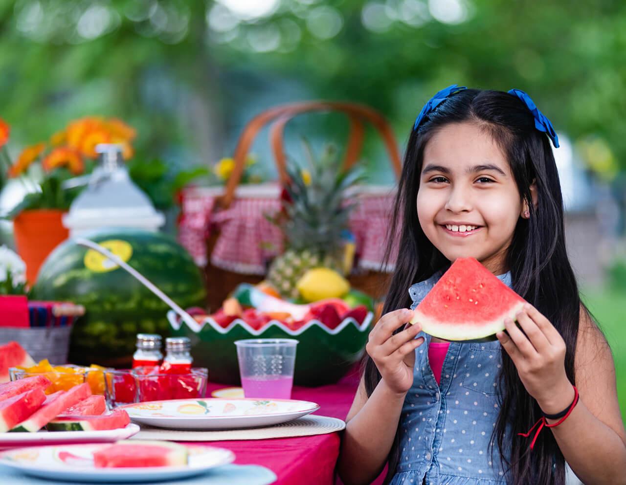 Kids Choice Watermelons Gallery little girl loving watermelon