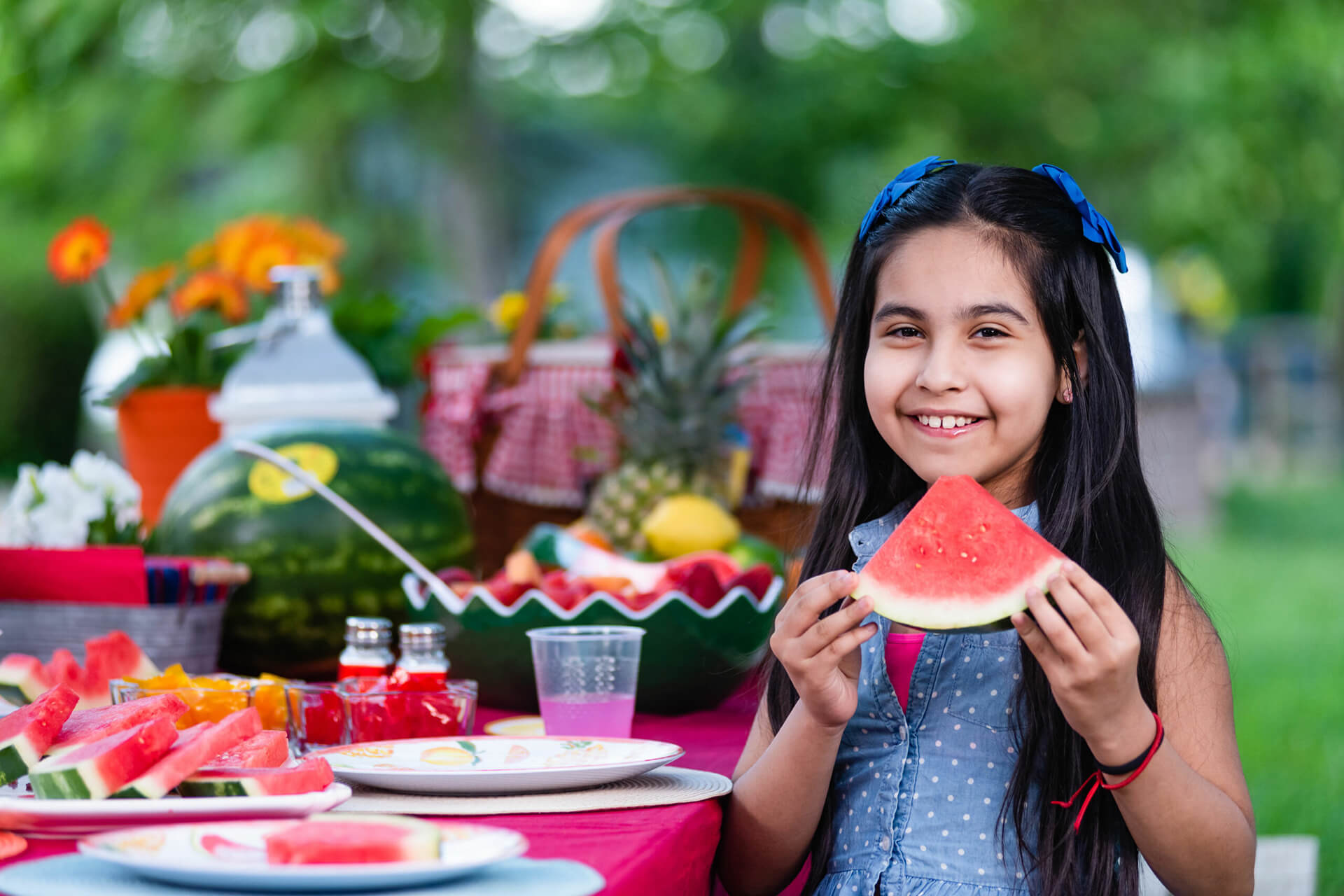 Kids Choice Watermelons all smiles