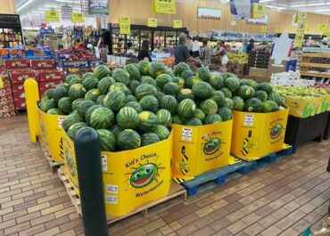 We Love to See Kid's Choice Watermelons at Your Local Grocery Stores